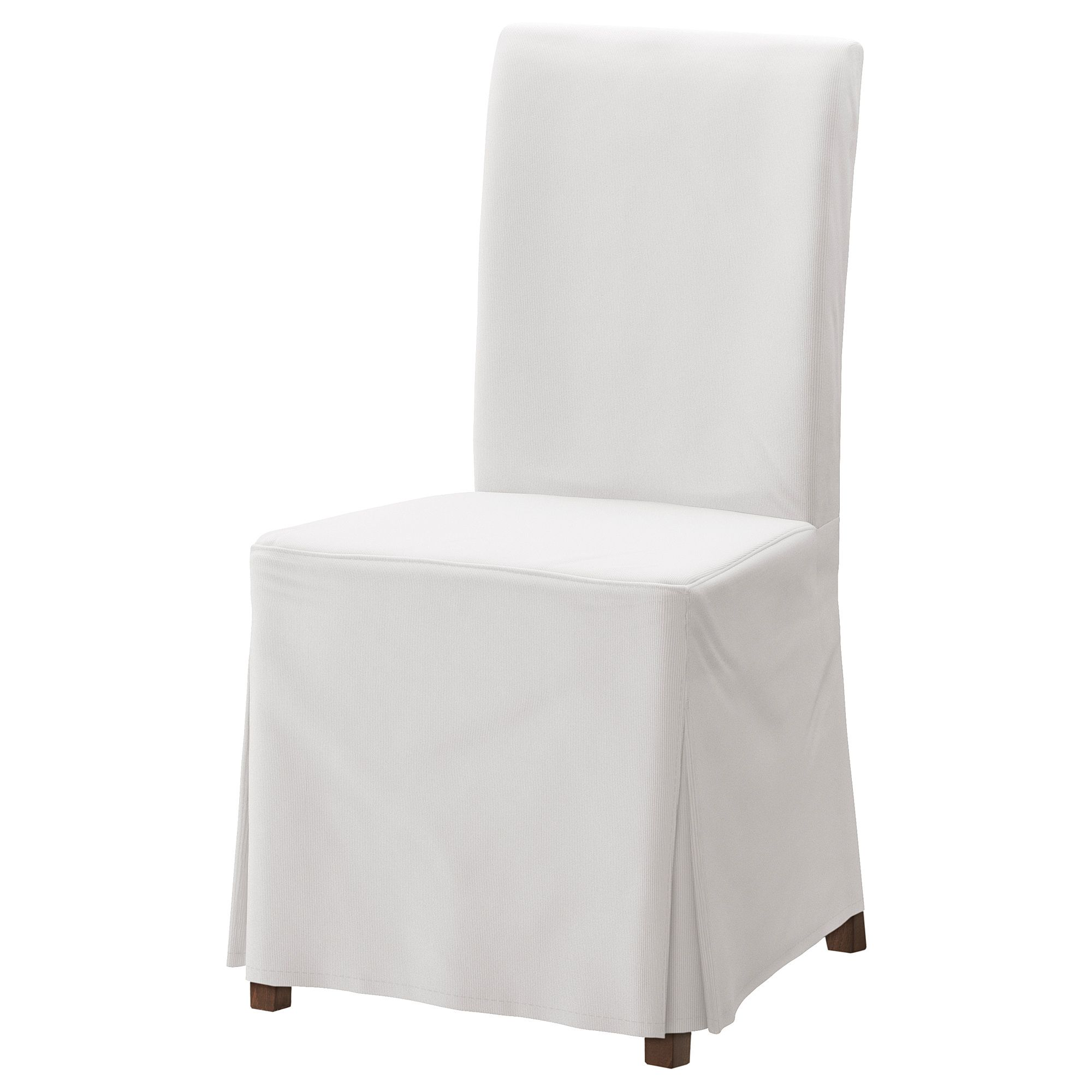 IKEA HENRIKSDAL Chair with long cover brown, Blekinge