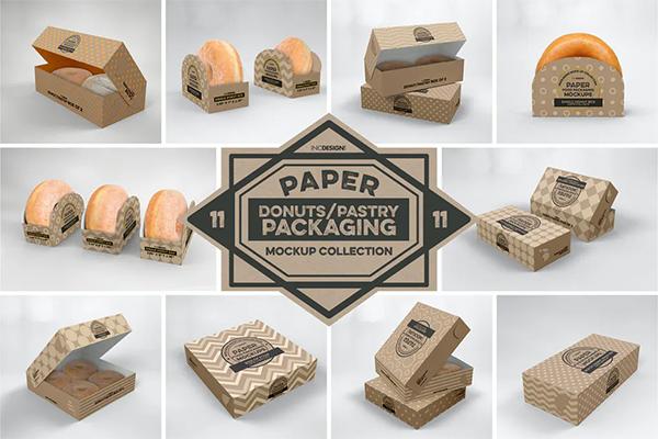 Download Paper Food Box Packaging Mockup In 2020 Food Box Packaging Packaging Mockup Free Packaging Mockup
