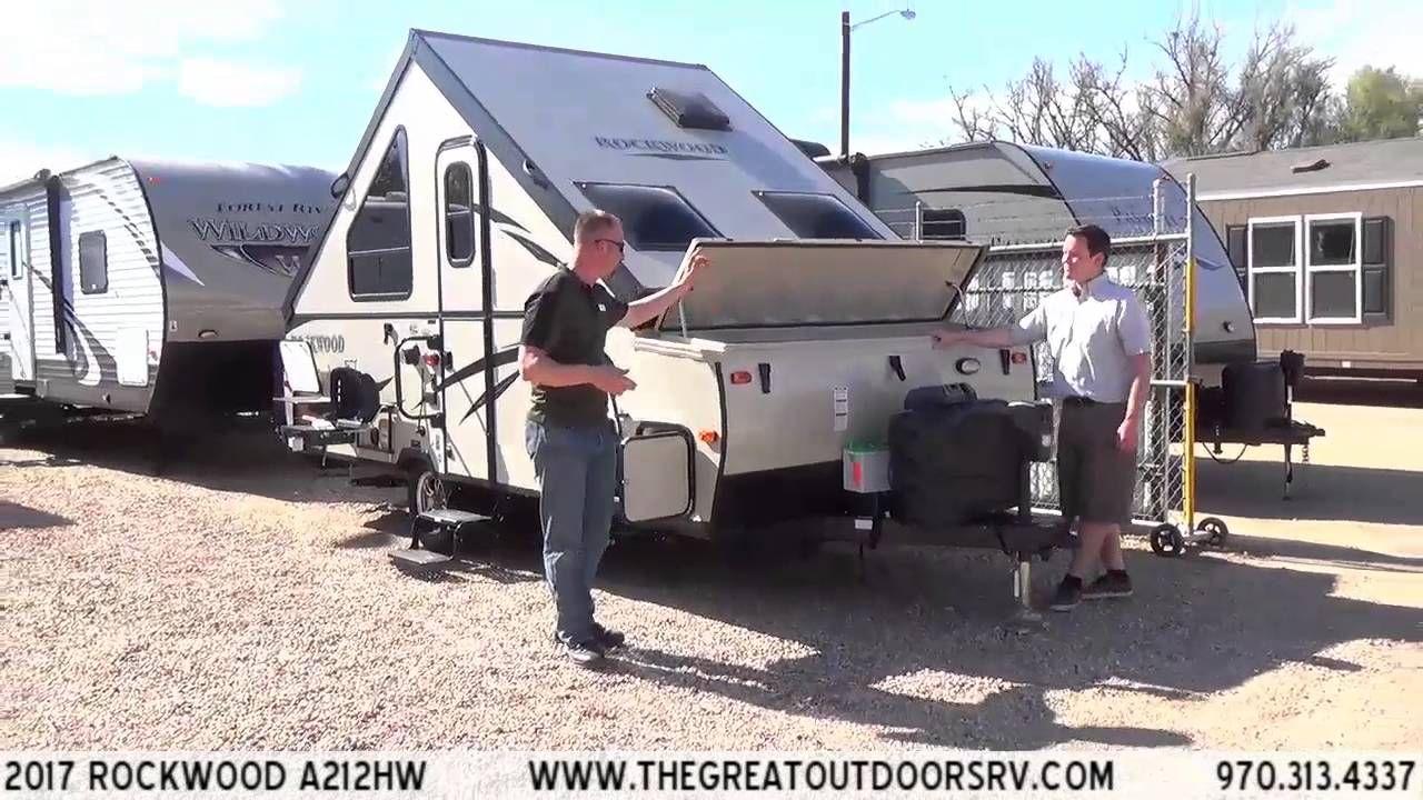 2017 Rockwood A212hw R922 A Frame Camper Recreational