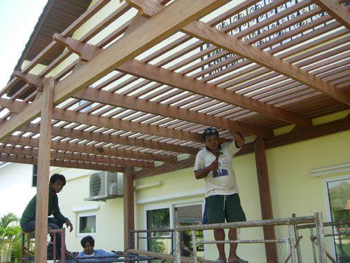 Canopie Pergola Design   At Pornchai Garden Have Designed And Constructed  All Types Of Pergola .