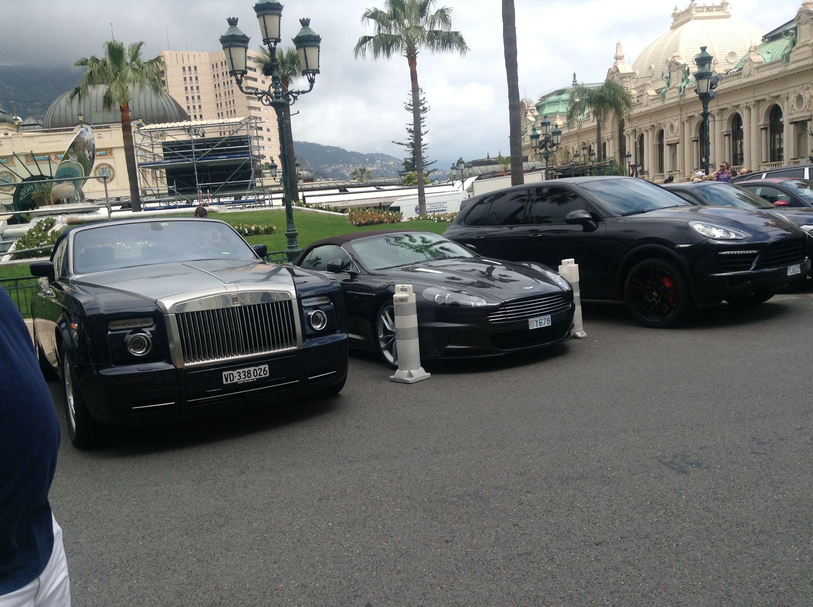 Cars Outside Monte Carlo Casino Monaco Monte Carlo Casino Monte Carlo Monaco