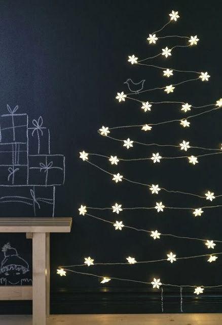 Get these pretty flower fairy lights at IKEA. Priscilla Mae et al