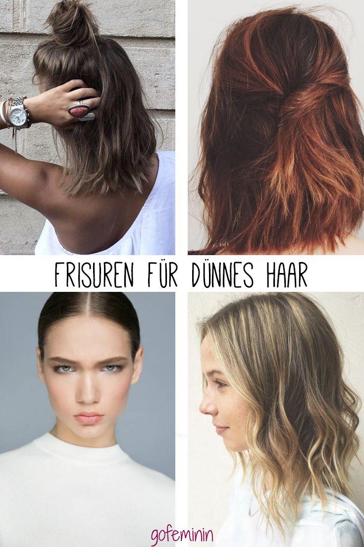 Ganz Easy! 7 Einfache Frisuren Für Dünne Haare Cylindrical