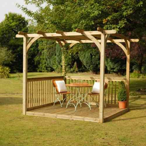 pergola jardin un coin de fra cheur pour se d tendre. Black Bedroom Furniture Sets. Home Design Ideas