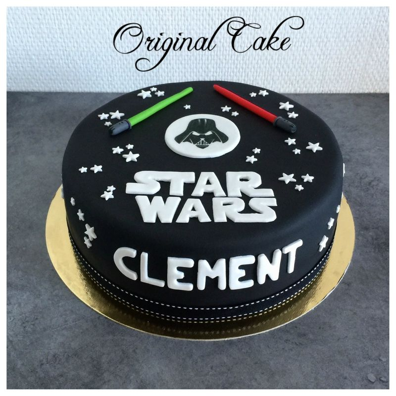 les 25 meilleures id es de la cat gorie gateau anniversaire star wars sur pinterest nourriture. Black Bedroom Furniture Sets. Home Design Ideas