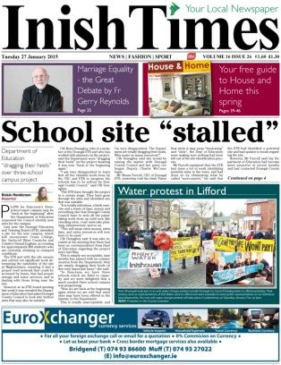Inish Times 27 January 2015 edition - Read the digital edition by Magzter on your iPad, iPhone, Android, Tablet Devices, Windows 8, PC, Mac and the Web.