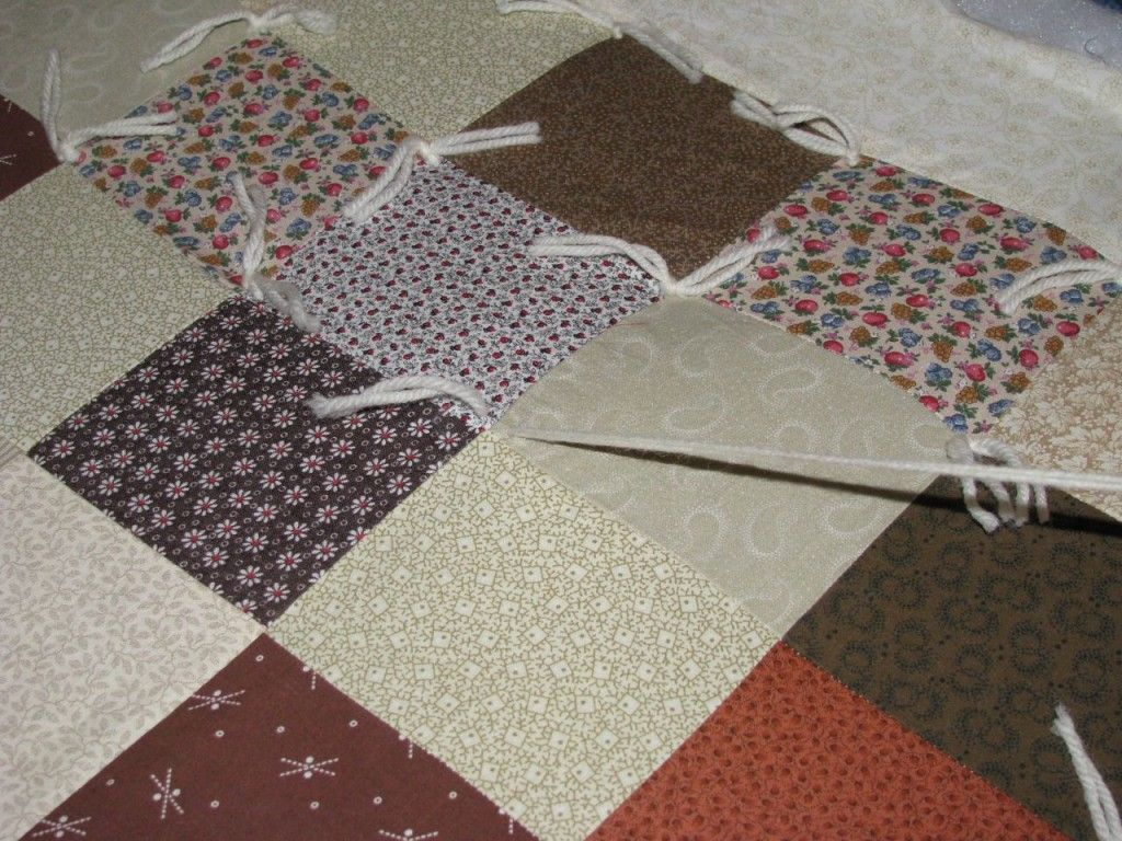 9 best Quilts images on Pinterest   Quilting ideas, Sewing crafts ... : how to make a tie quilt - Adamdwight.com