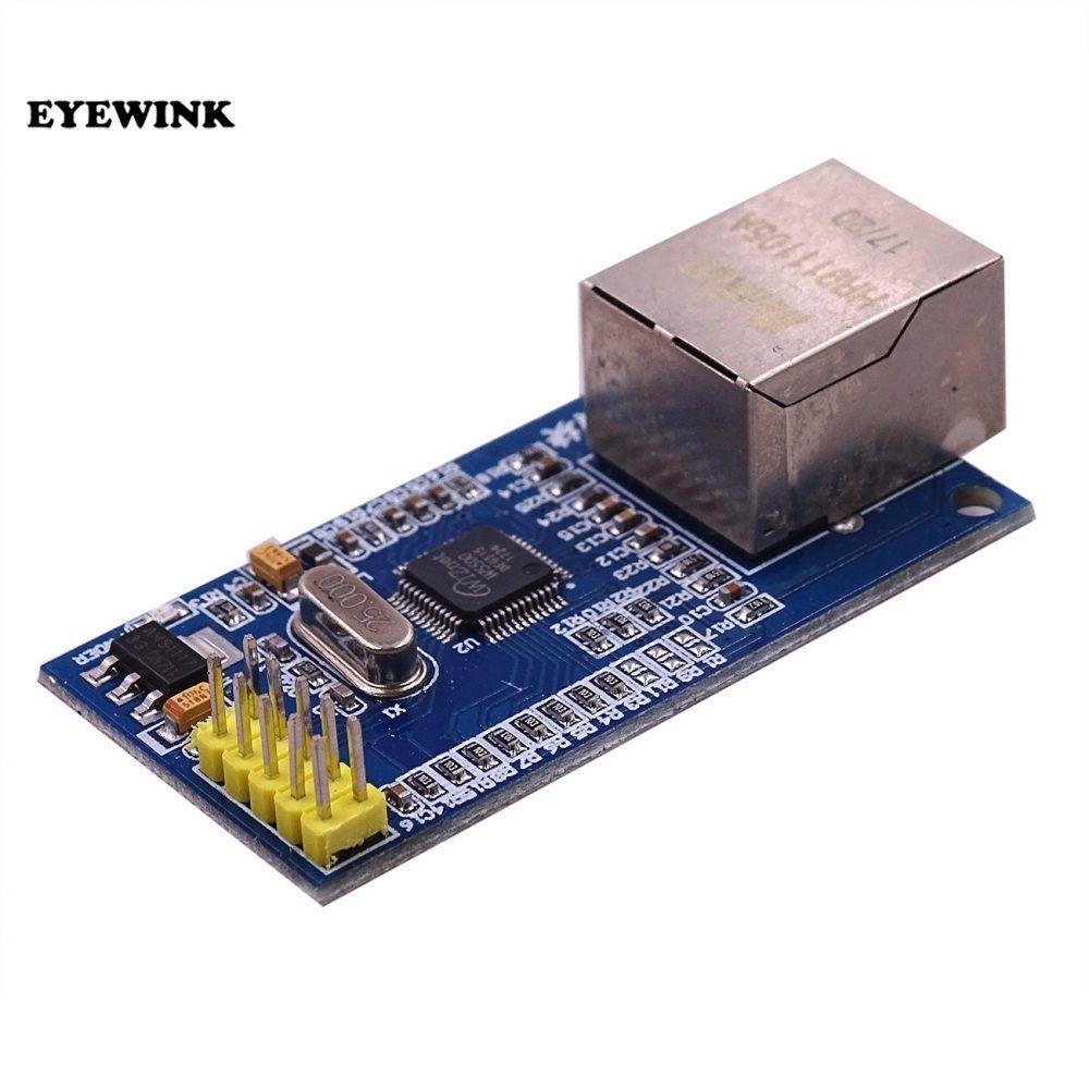 EYEWINK Free shipping 10pcs/lot W5500 Ethernet network module