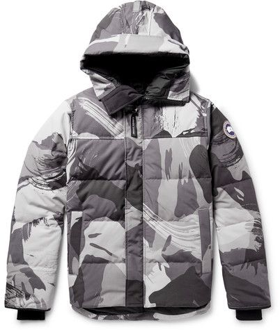 09e44e098ad0 Canada Goose Macmillan Printed Quilted Shell Hooded Down Parka ...