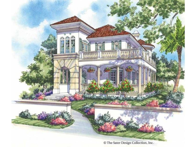 Italianate style 2 story 3 bedrooms s house plan with for Italianate house plans