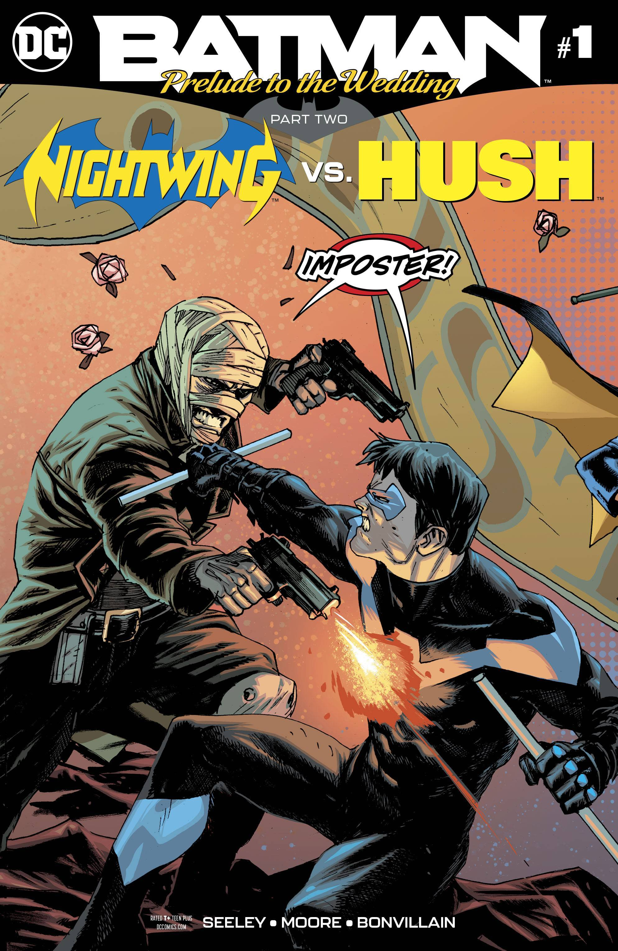 Prelude To The Wedding Nightwing Vs Hush Hush Hush Nightwing