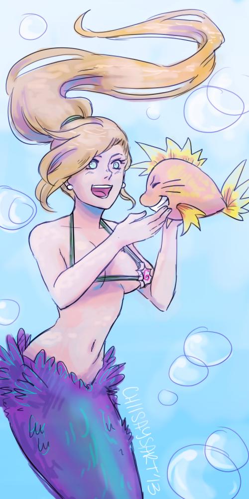(Fish) Naruto and Ino. / NaruIno