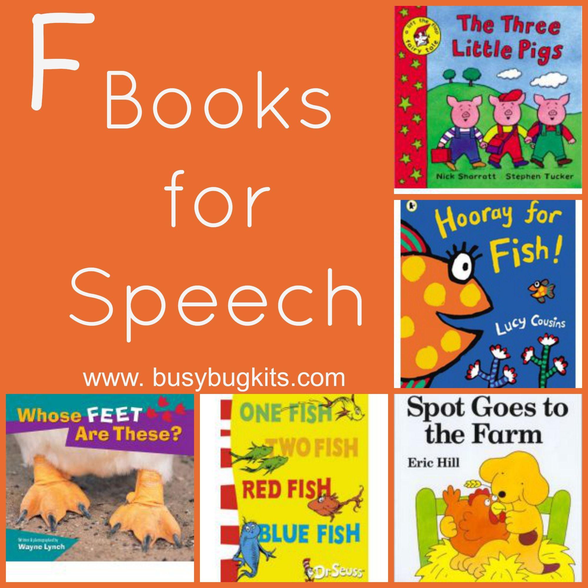 Books For Speech Sounds