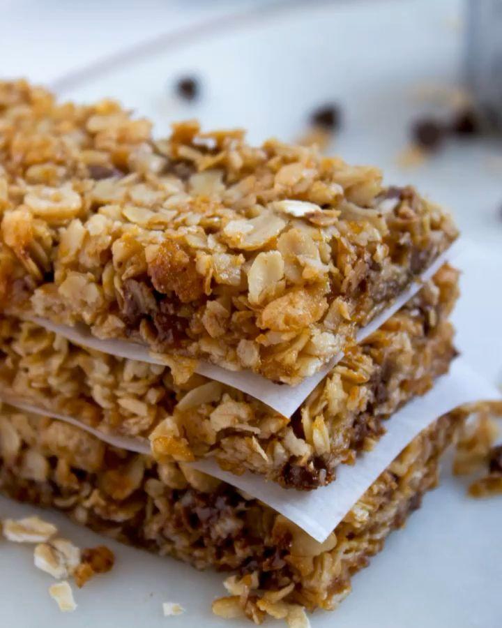 Photo of Crunchy School Safe Granola Bars