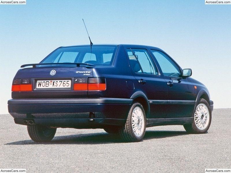 Volkswagen Vento Vr6 1992 Vintage Volkswagen Volkswagen Volkswagen Jetta