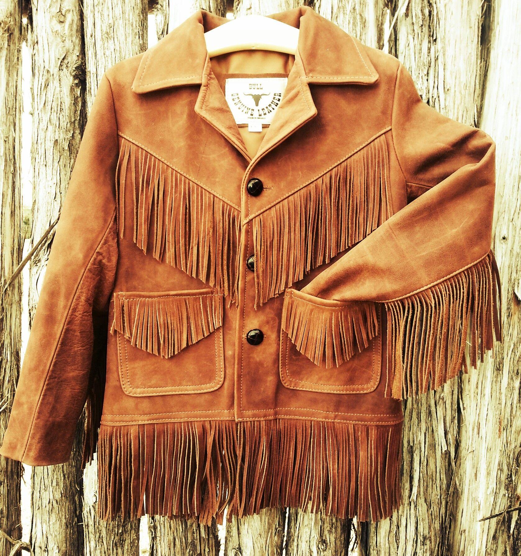 Kid S Brown Leather Fringe Jacket Go To Www Bootbabyranch Com Fringe Leather Jacket Western Outfits Western Fashion [ 1790 x 1677 Pixel ]