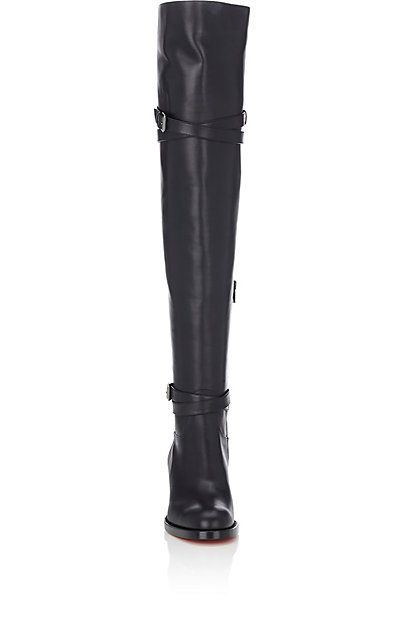 4dd687860036 Christian Louboutin Karialta Leather Over-The-Knee Boots - Boots - 504551915