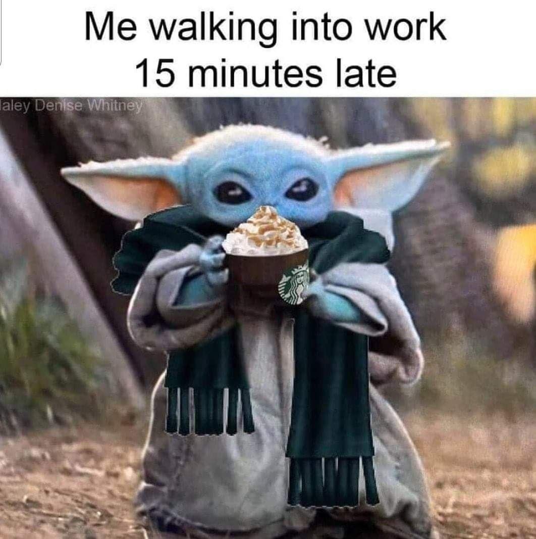 Pin By Tovah Madia On Work Yoda Funny Yoda Meme Work Memes