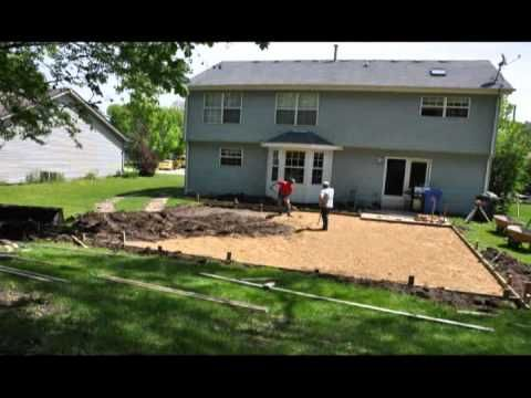 Backyard Basketball Court Build A Amp J Concrete Construction Inc Pinterest Home Metal