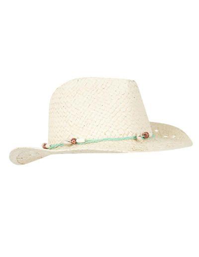 SuiteBlanco- Sombrero rafia abalorios Última Moda ba5092240b0