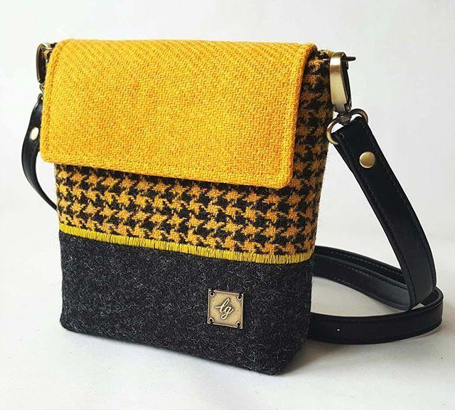 ff91e8e1ca Meet our latest DN member  LisaGibsondesign a designer and maker of bespoke  luxury handbags for women using Harris Tweed