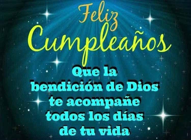 Felicitaciones de Cumpleaños Cristianas para Desear Bendiciones Tarjetas de Feliz Cumpleaños