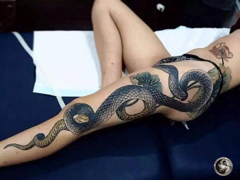 Amazing Snake Tattoo Designs - Wormhole Tattoo 丨 Tattoo Kits, Tattoo machines, Tattoo supplies