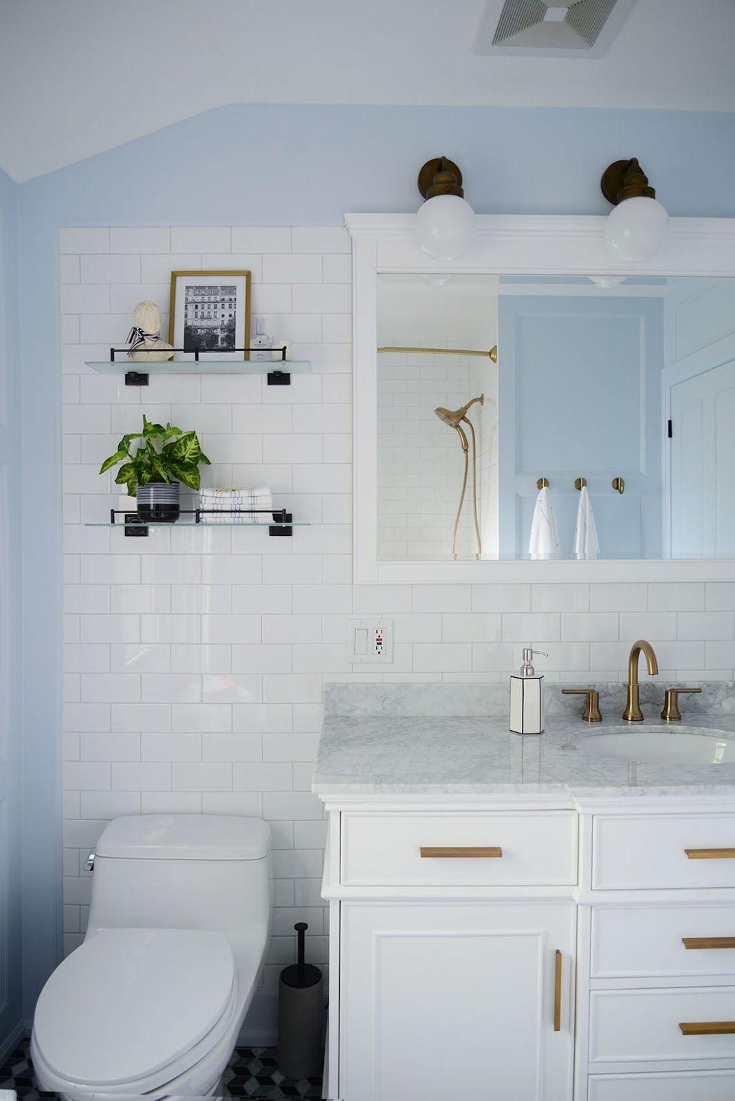 French Style Bathroom Renovation Bathroom Renovation Light Blue