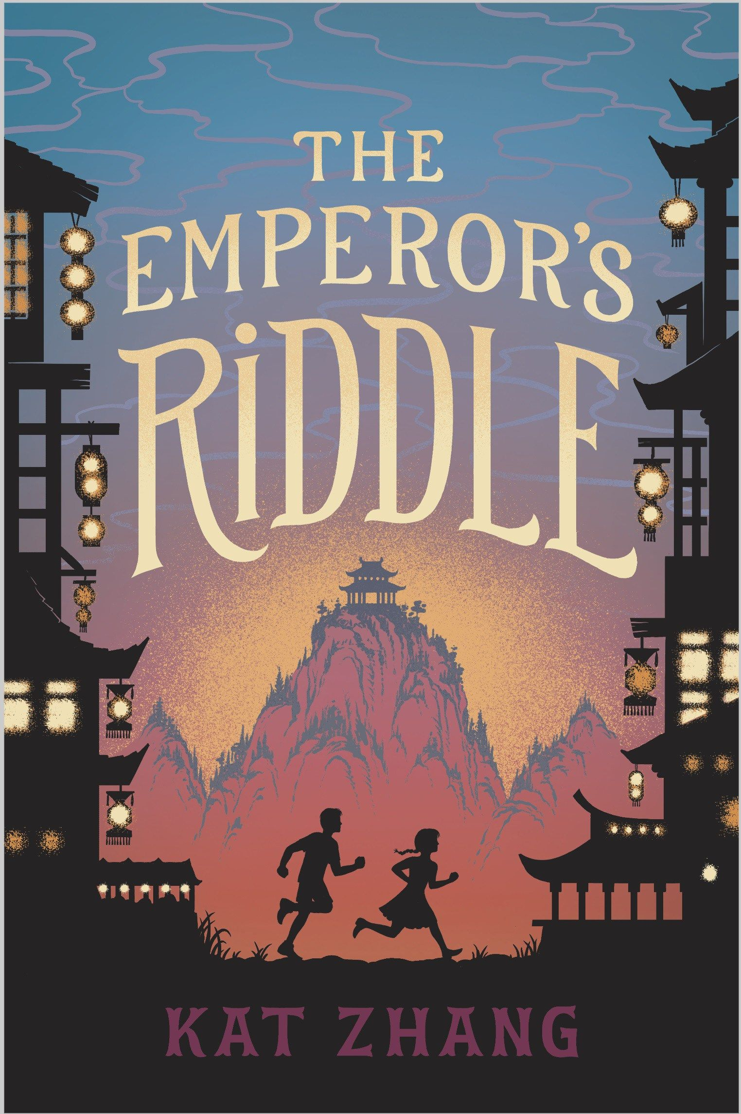 Kat Zhang The Emperor's Riddle Middle grade books