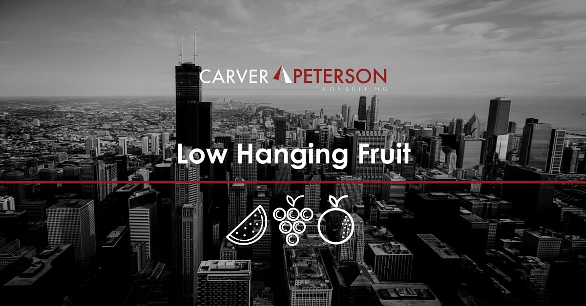 Prospecting the low hanging fruit when you are starting