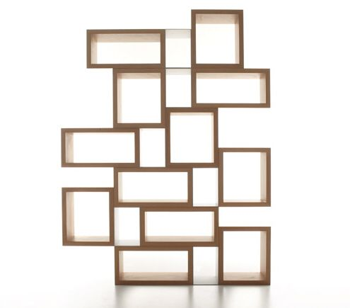 Box Shelves Bookcases : 30 Outstanding Designs For Home Or Office