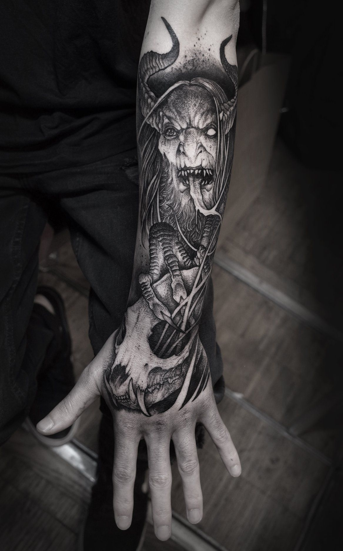 Satanic Tattoo: Satanic Tattoos, Scary Tattoos