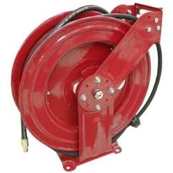 "HP Oil/Grease Hose Reel, 65 FT, 1/2"""""""", 2000PSI"
