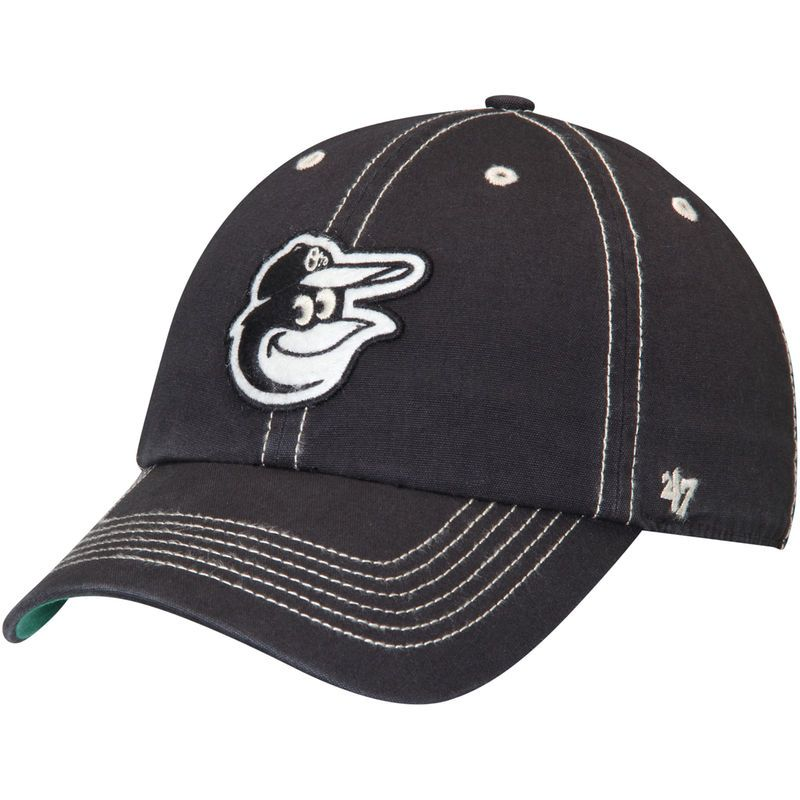 65f45f34395 Baltimore Orioles  47 Groveland Franchise Fitted Hat - Black ...