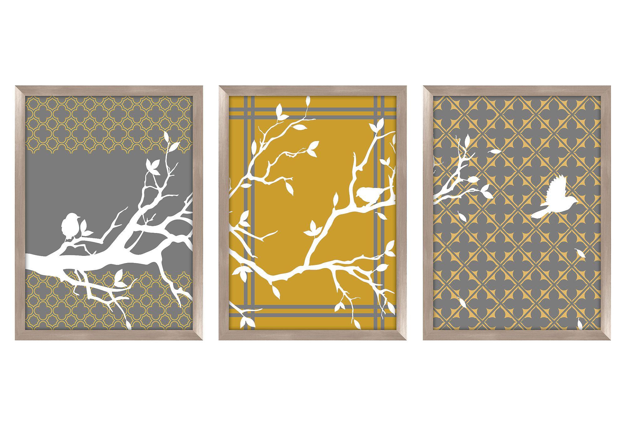 Beautiful tri-set for wall | Decor ideas | Pinterest | Walls