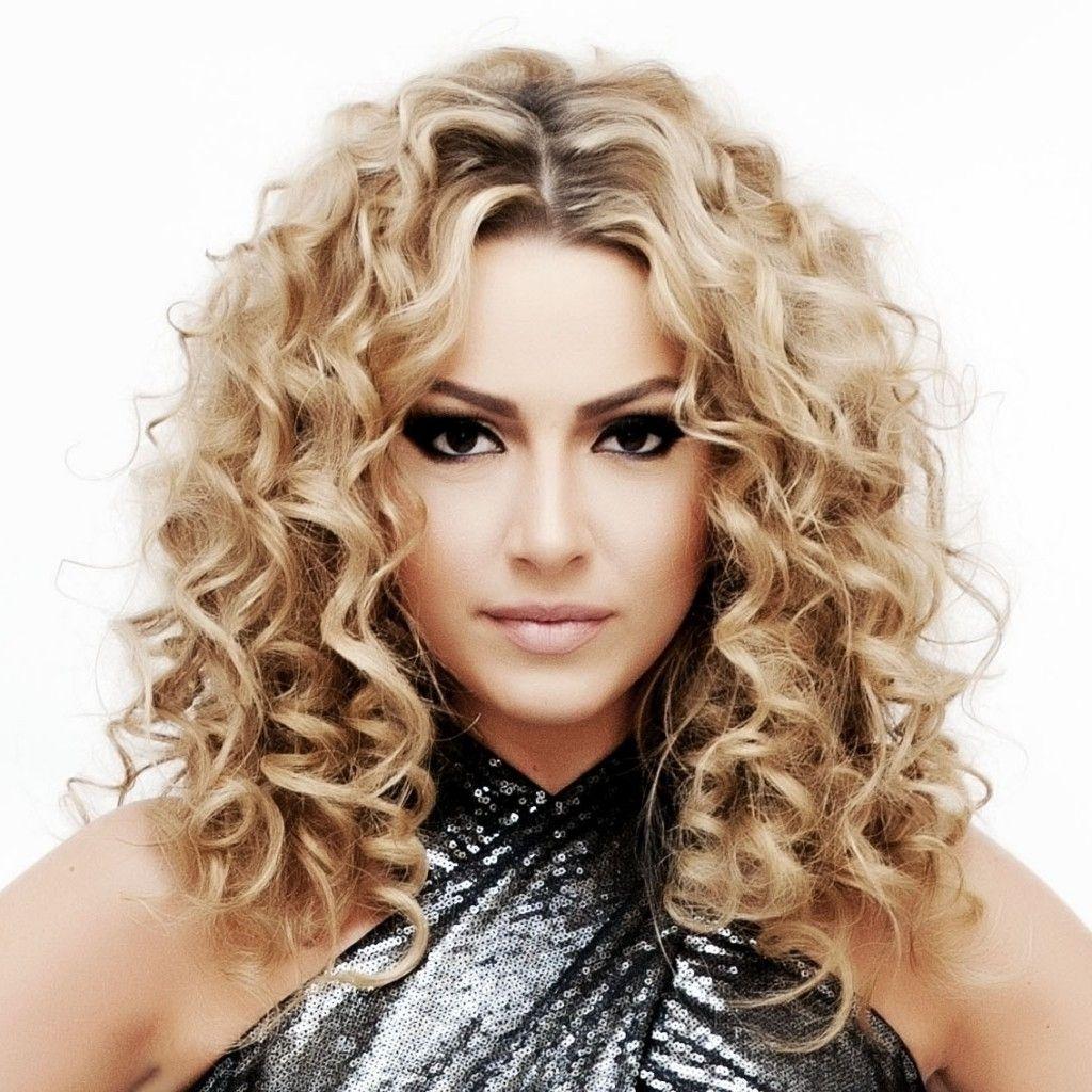 Lose Dauerwelle Frisur Für Lange Haare Frisuren Modelle Curly