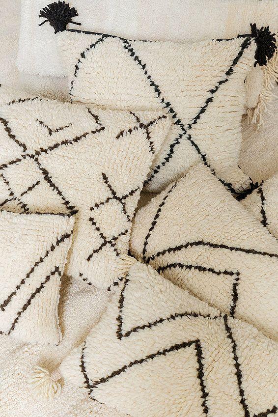 poufs et coussins berb res b ni ouarains eclectic pinterest deco och inspiration. Black Bedroom Furniture Sets. Home Design Ideas