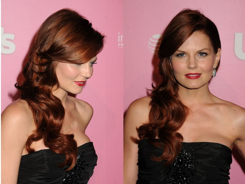 Once Upon a Time's Jennifer Morrison has found my dream shade of red hair!