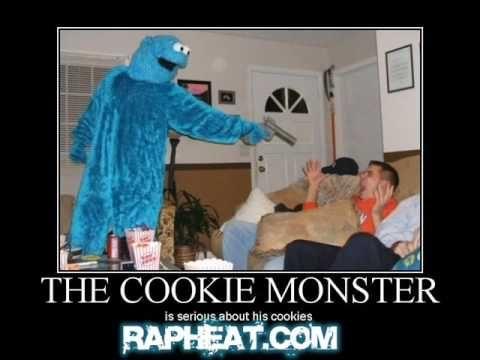 Ghetto Oscar The Grouch Gangsta Cookie Monster Videos