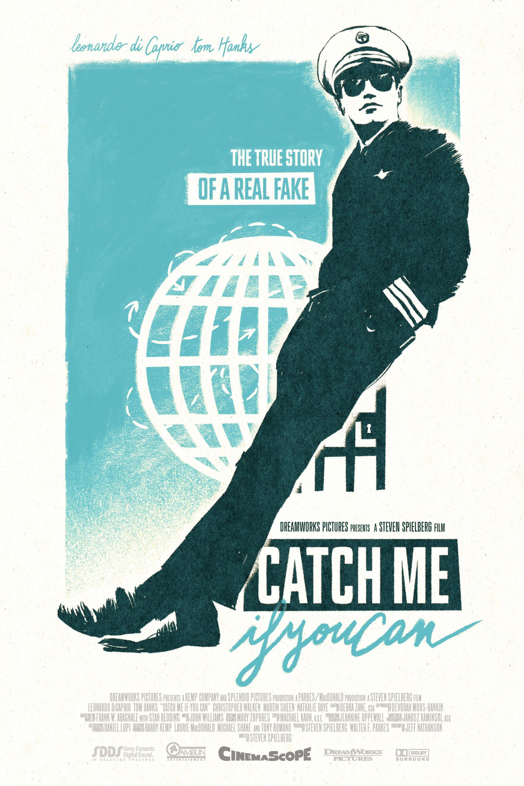Catch Me If You Can By Livio Bernardo Movie Posters Minimalist Best Movie Posters Movie Posters