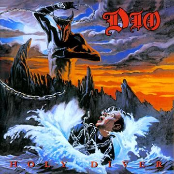 Dio - Holy Diver - 25 Greatest Hard Rock and Heavy Metal Album Covers