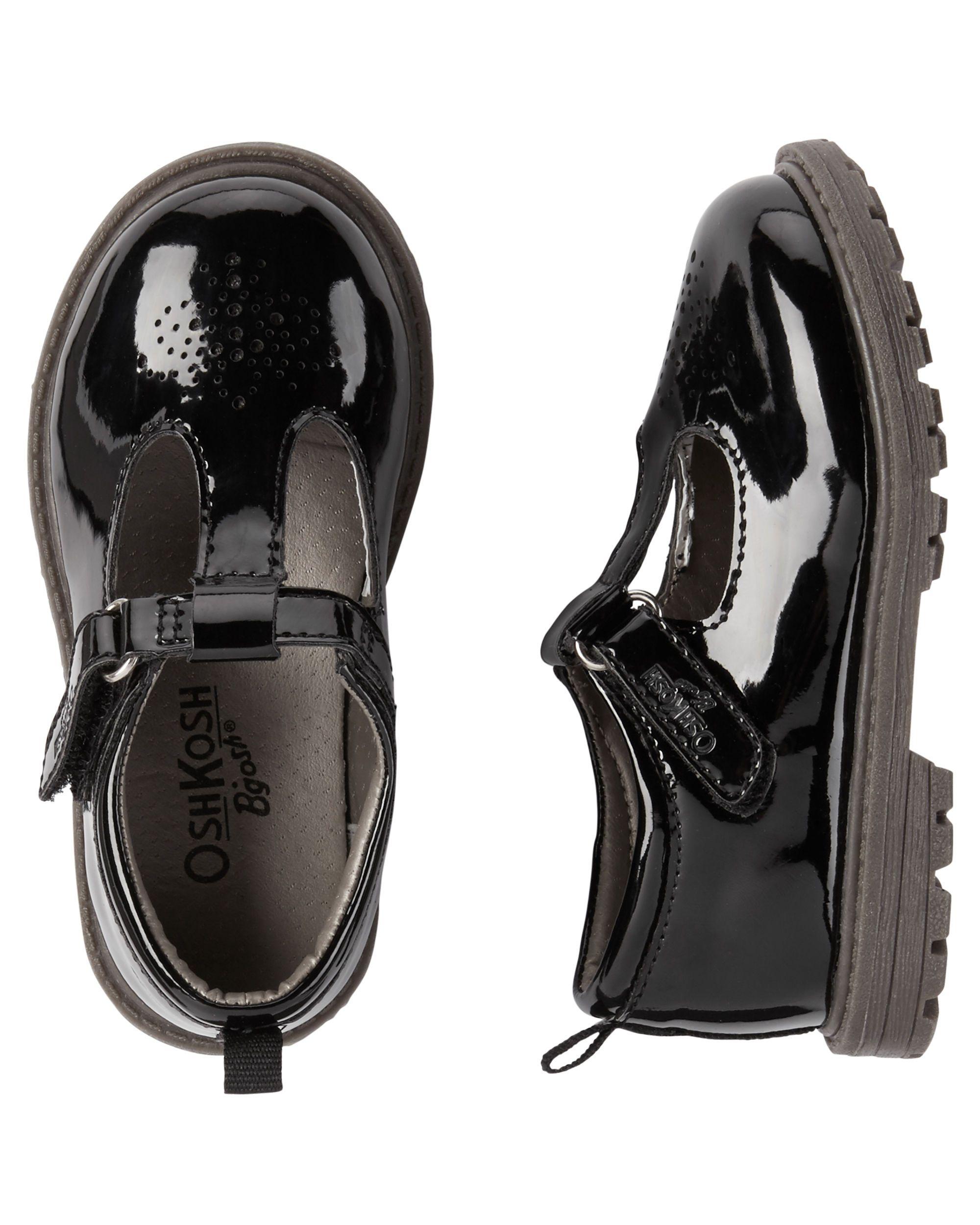 OshKosh Patent Leather T Strap Mary Janes