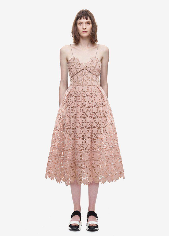 Sexy Summer Spaghetti Strap Hollow Midi Dress in 2018  74c57df808d3