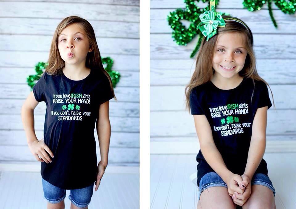 Irish girls shirt ❤️