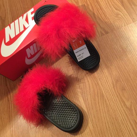 692ef74c8 Best SHoes on in 2019   cute sandals   Fur slides, Shoes, Sock shoes