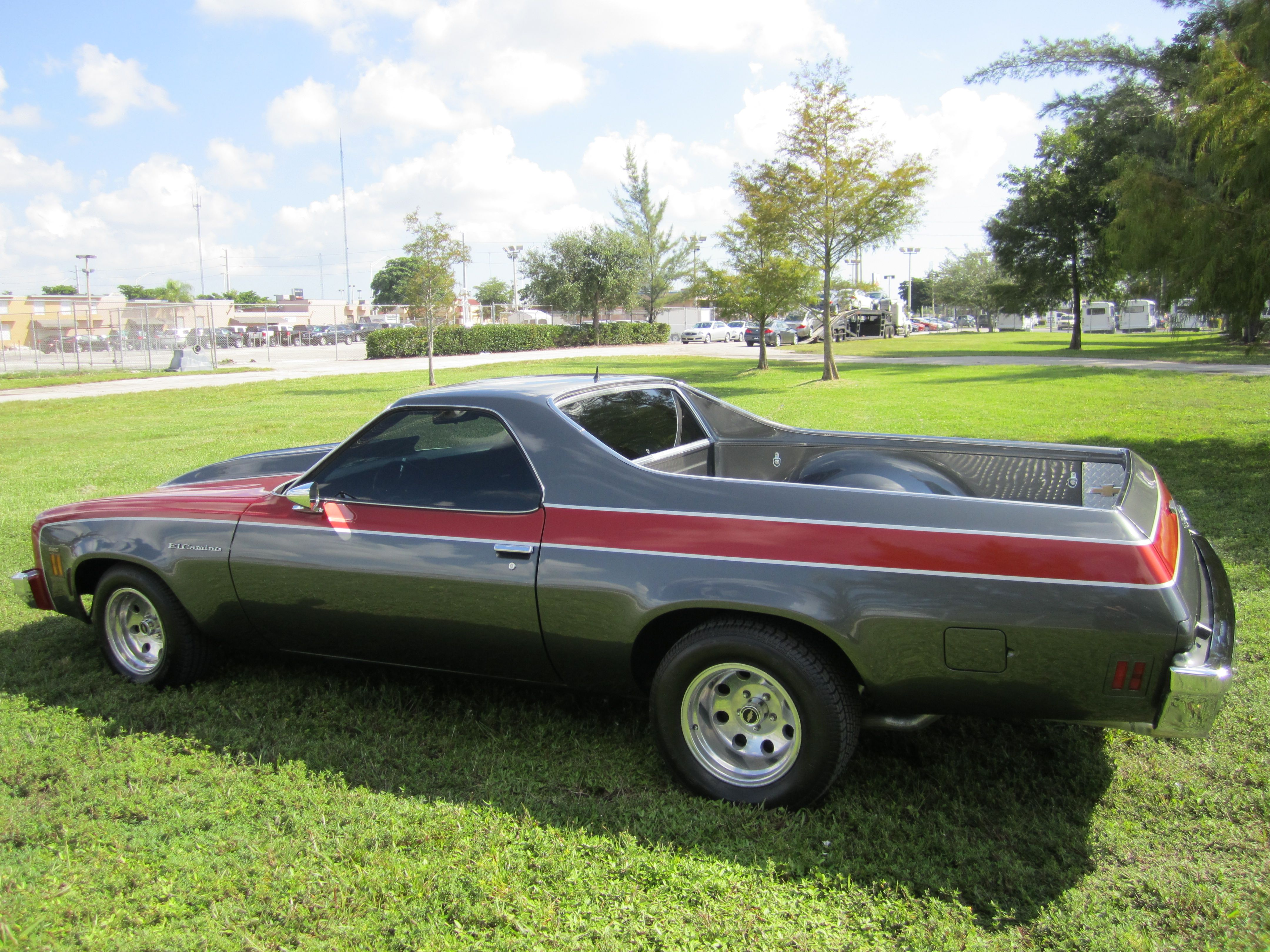1973 Chevrolet El Camino Maintenance/restoration of old/vintage vehicles:  the material for new cogs/casters/gears/pads could be cast polyamide which  I (Cast ...