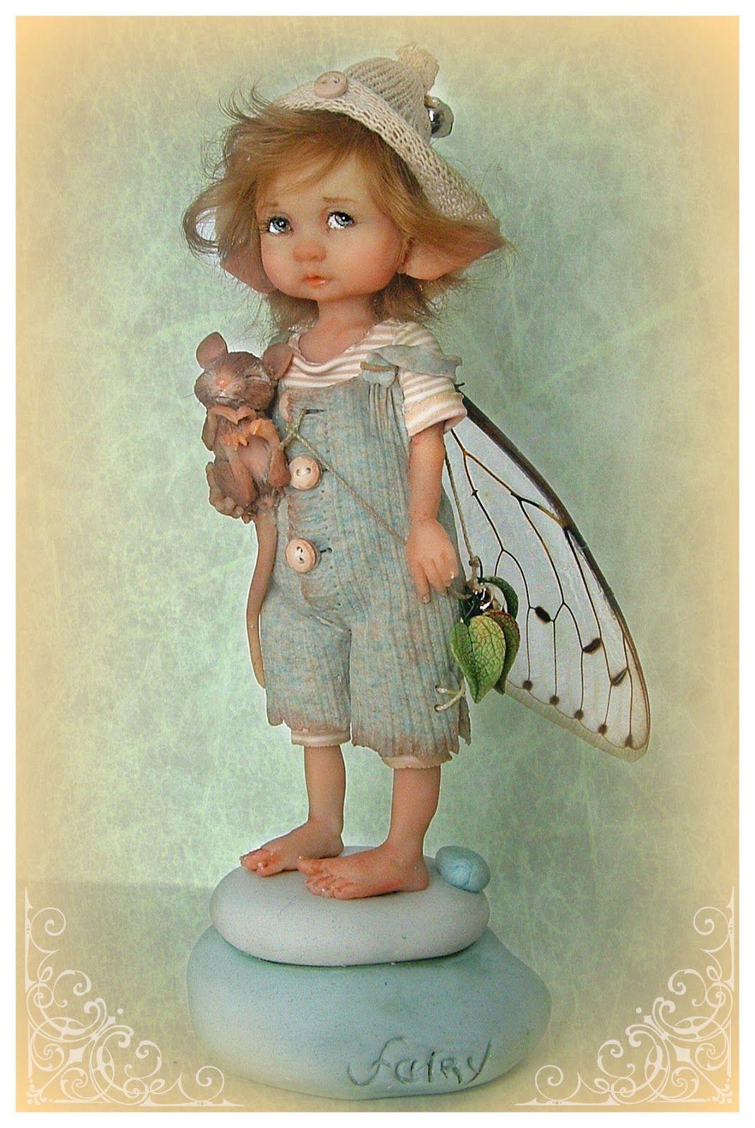 Куклы эльфы своими руками из глины фото 740