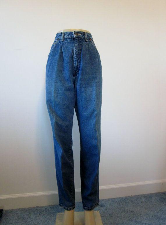 Vintage Lee High Waisted Size 14 31/' Waist