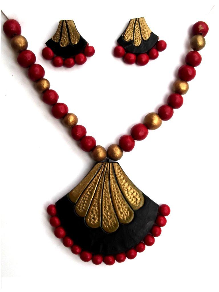 Terracotta Necklessset Jewellery Craftshopsindia