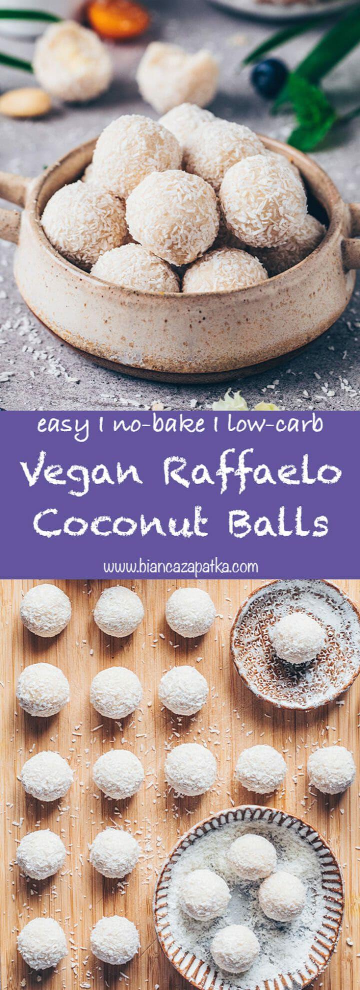 Vegan Raffaelo (Easy Coconut Balls) | Recipe in 2020 ...